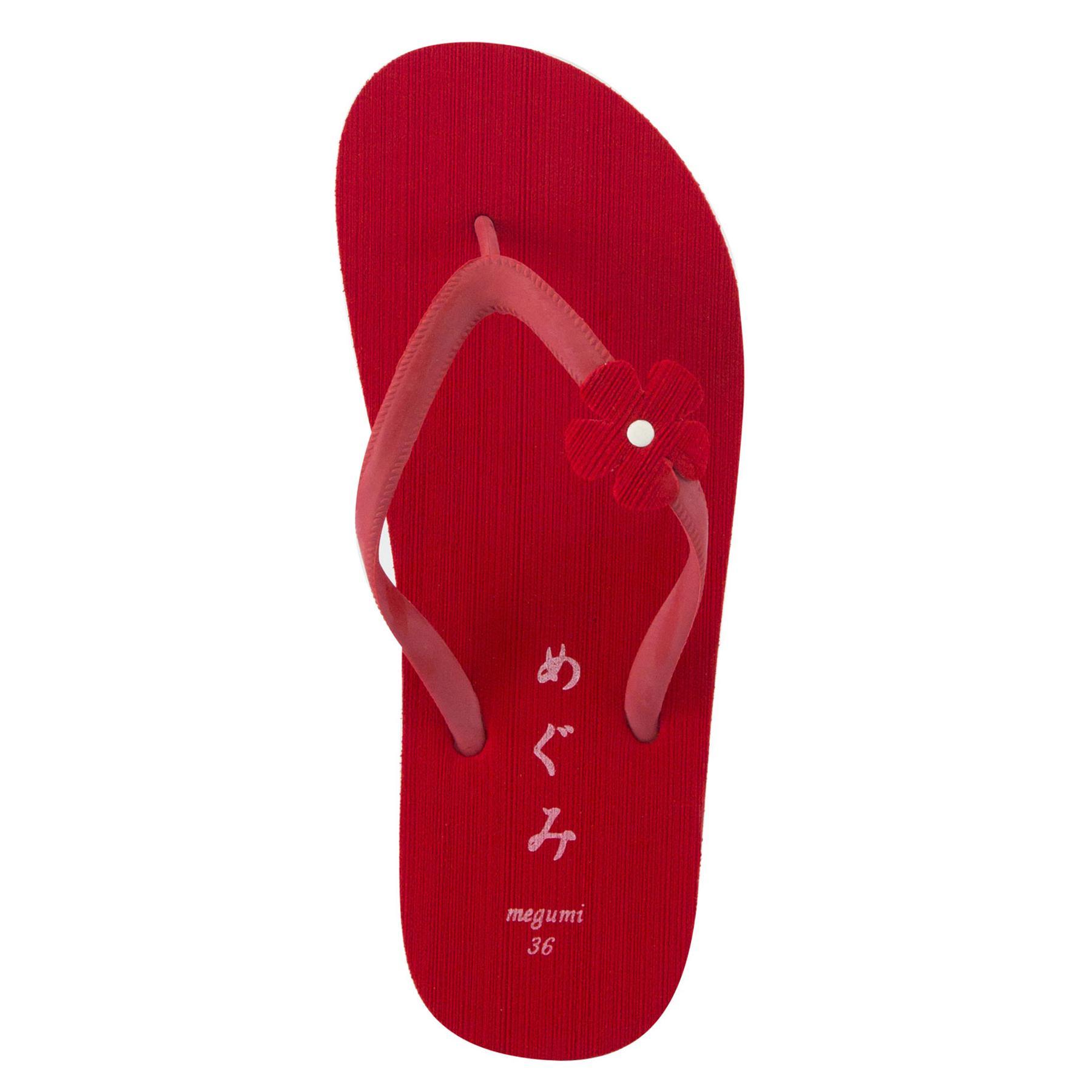 ... Megumi Freesia Sandal Jepit - Merah ...