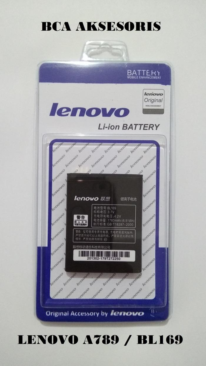 BEST SELLER - BATTERY BATRE BATERAI LENOVO A789 / P70 / S560 / BL169 ORIGINAL