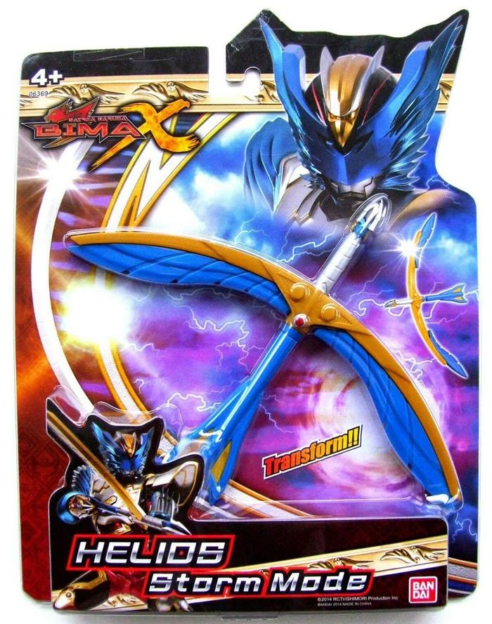 BIMA-X ST Helios Storm Mode Satria Heroes Role Play