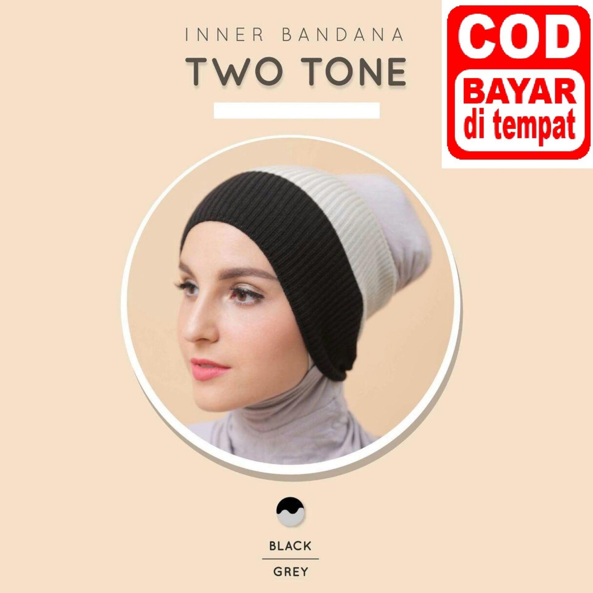Buy Sell Cheapest Chi Wang Rajut Best Quality Product Deals Bandana Anti Pusing Llinner Jilbab Ciput Polos Dalaman Hijab