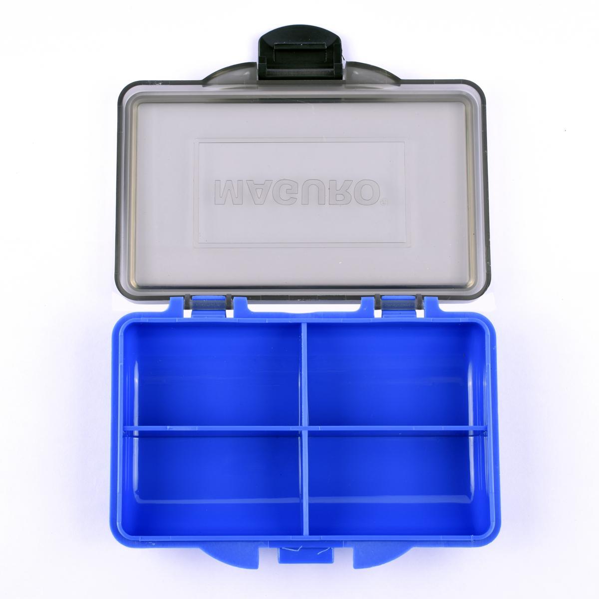 Kotak Pancing Maguro Carp Small Box 4 Compart Warna Biru