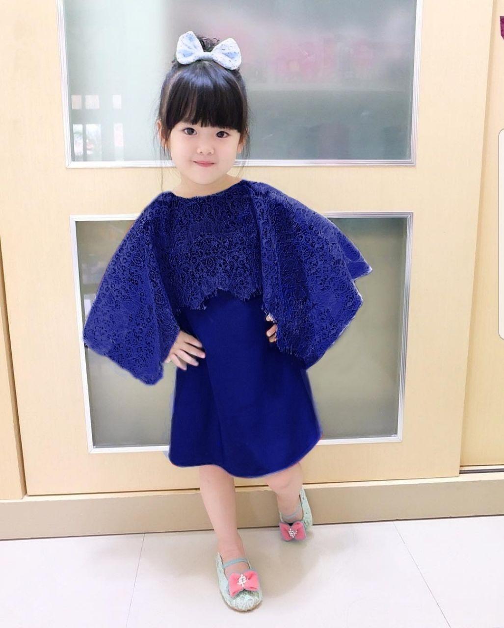 MJ Dress Anak Elsi Cape Kids - Benhur