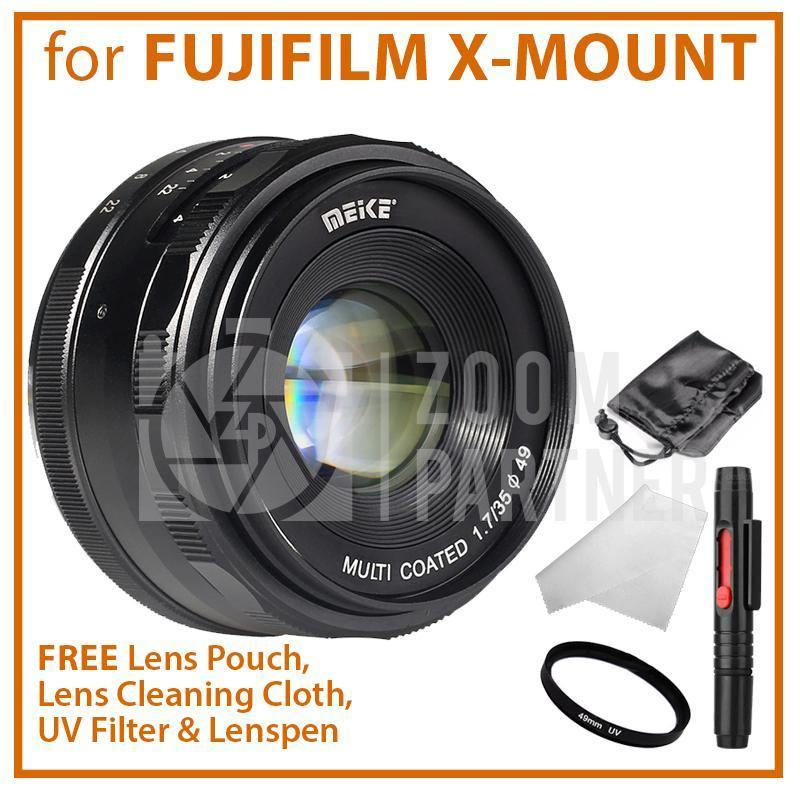 Lensa Fix MEIKE 35mm F1.7 For Fujifilm Mirrorless E-Mount