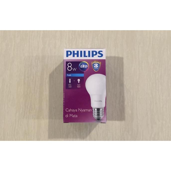 GRATIS ! Lampu Bohlam LED Philips 9 Watt (Cool Day Light/Putih)