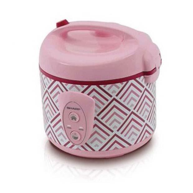 Rice Cooker 1.8L Pink Sharp KSN18MGPK
