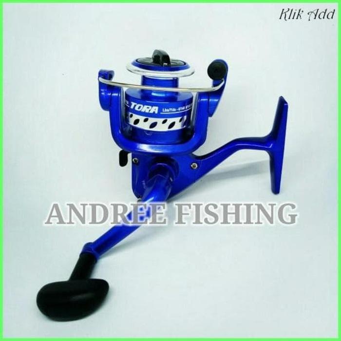 Reel Pancing Tora Trio 750 Biru Aluminium Spool / Kerekan / Reel / - LGsNrO