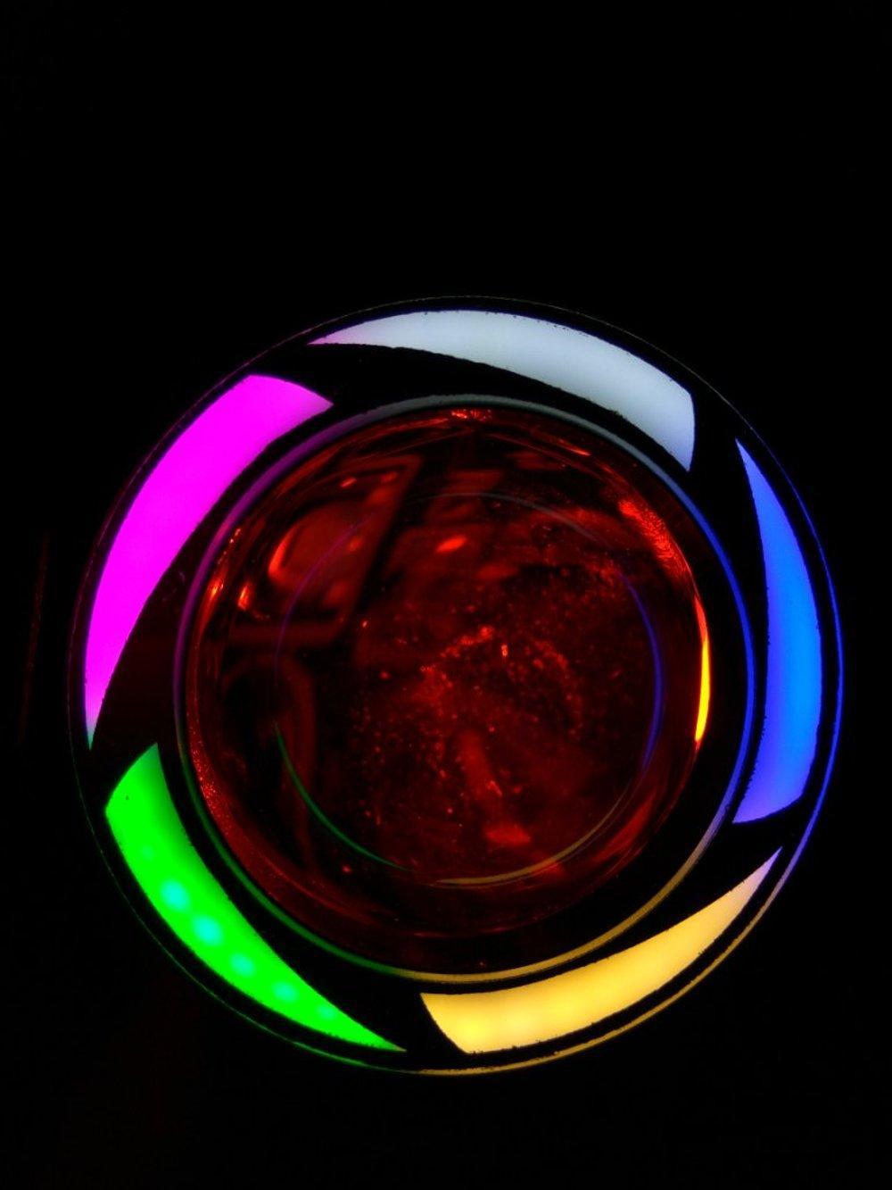 Beli Cree U7 Lampu Sorot Motor Dengan Angel Eyes Tembak Led Transformer Rainbow Pelangi Ae Dan De