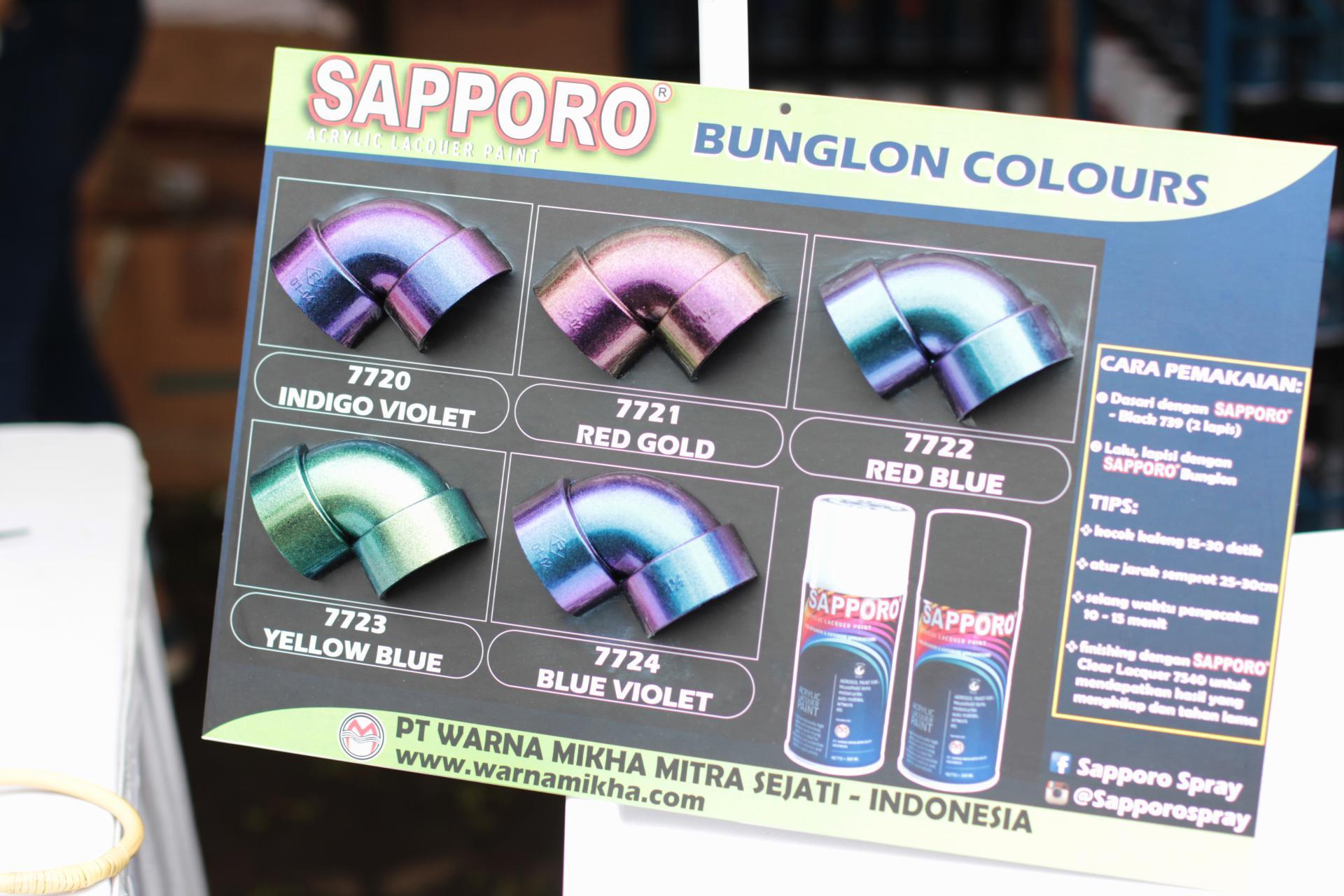 Fitur Cat Semprot Sapporo Bunglon Pilox Pylox Dan Harga Terbaru 7570 Metallic Grey 2