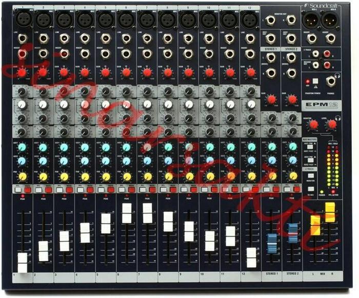 Mixer Soundcraft EPM12 ( 12 channel ) ORIGINAL