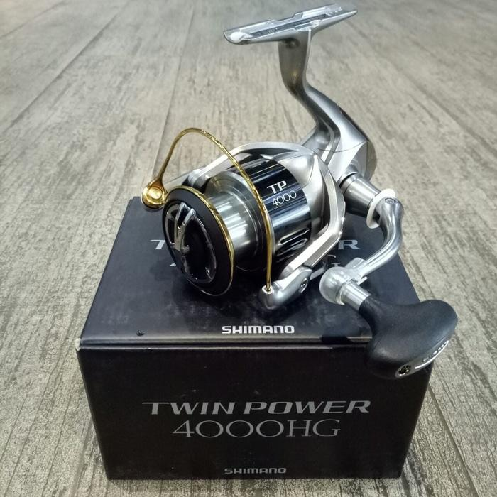 Reel Pancing Shimano Twin Power 15 4000 HG 9+1 bb - hquc8y
