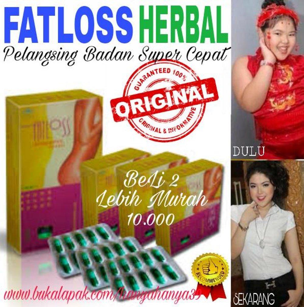 Obat Pelangsing Badan Diet Cepat Ampuh Produk Import Fatloss