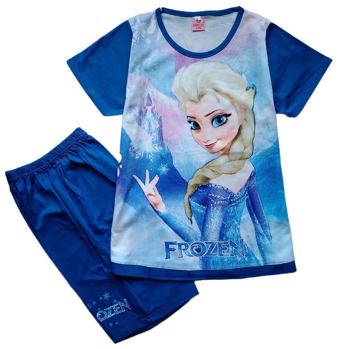 Baju Setelan Anak Perempuan Frozen FR112017