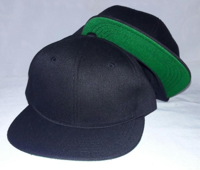 topi snapback hitam based hijau polo PROMO