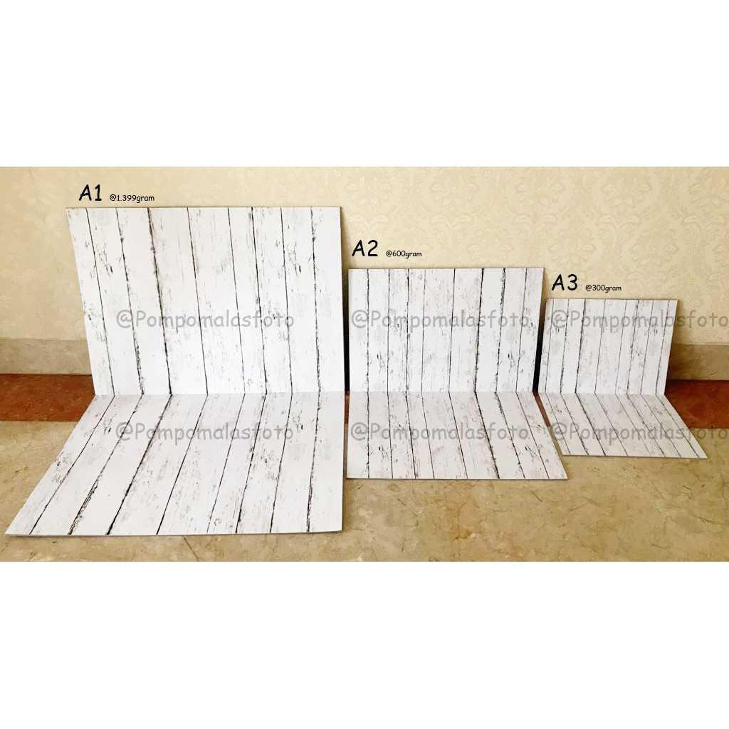 Alas foto lipat kayu texture wood double motif A3+ kode RM1017 kamera -