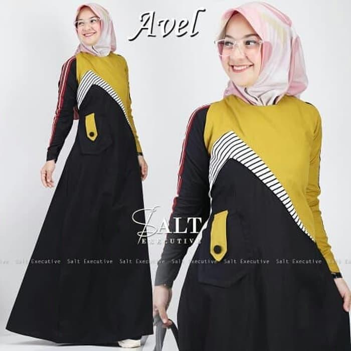 Avel by salt executive gamis Dress cassual keren