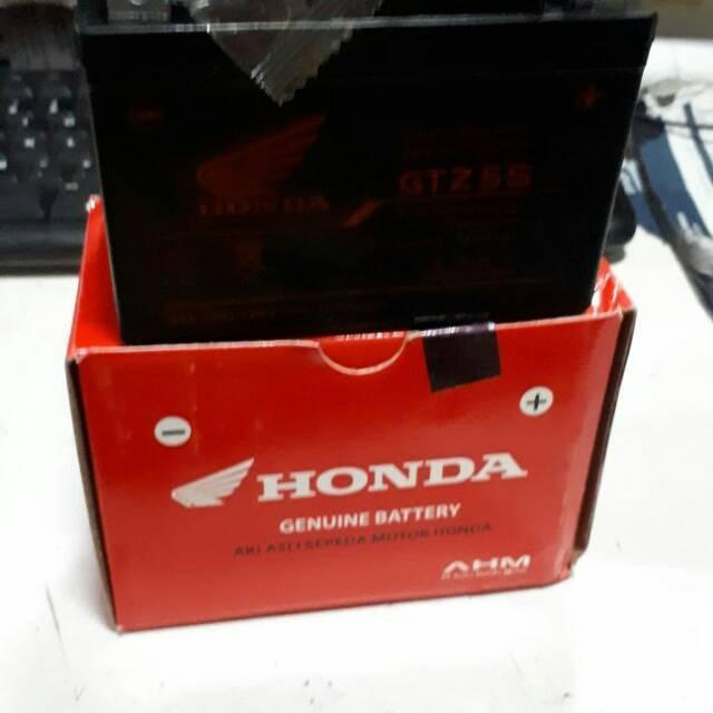 Aki Accu Honda Ahm GTZ5S Sonic Cs1 Karisma Supra 125 Vario Beat Verza New Megapro 31500-Kph-900