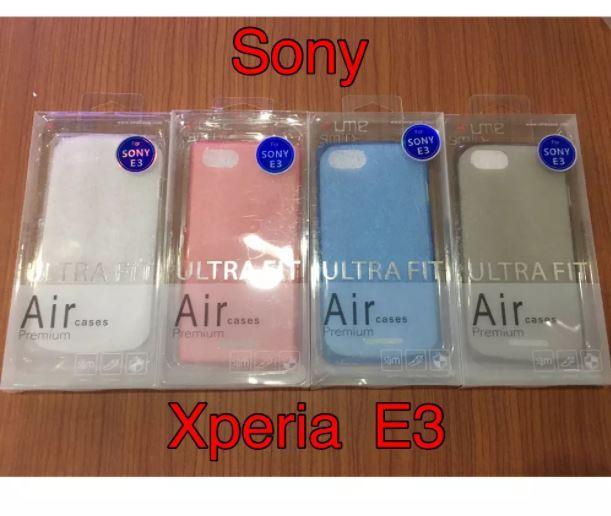 Ume Ultra Thin Case Sony Xperia E3 - Clear/Putih