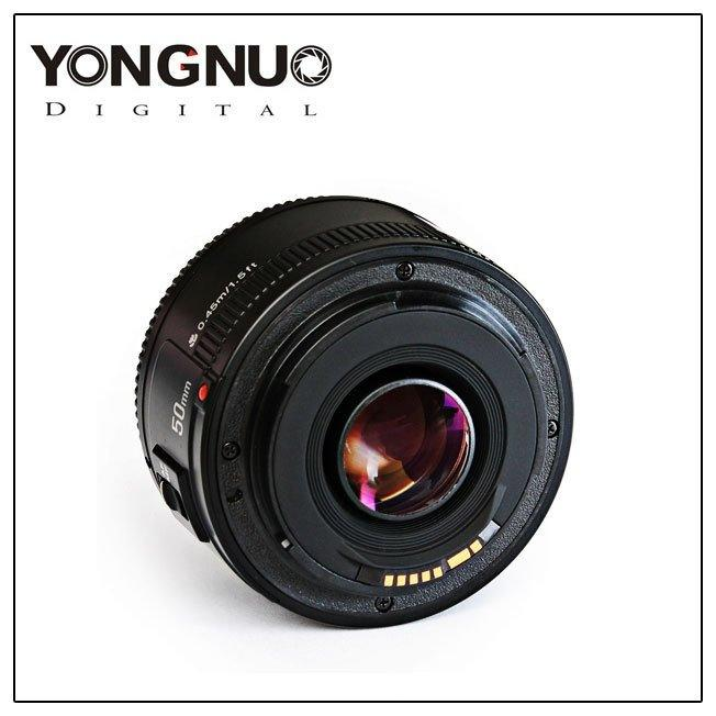 YONGNUO YN50mm F1.8 Lens Large Aperture Auto Focus Lens For Canon EF Mount EOS Camera - intl