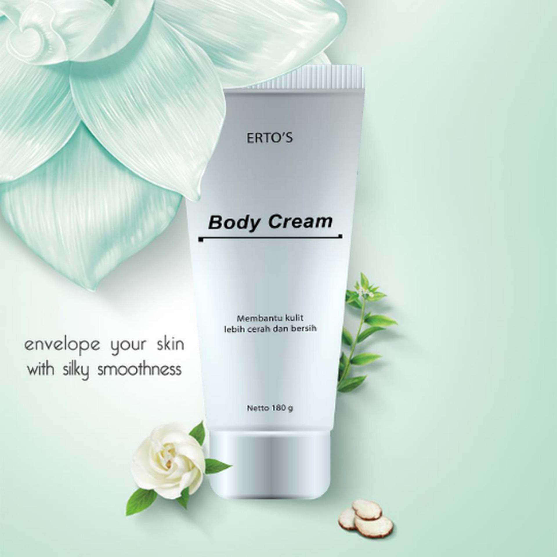 Kehebatan Paket Hemat Ertos Original Facial Treatment Body Lengkap Cream 4