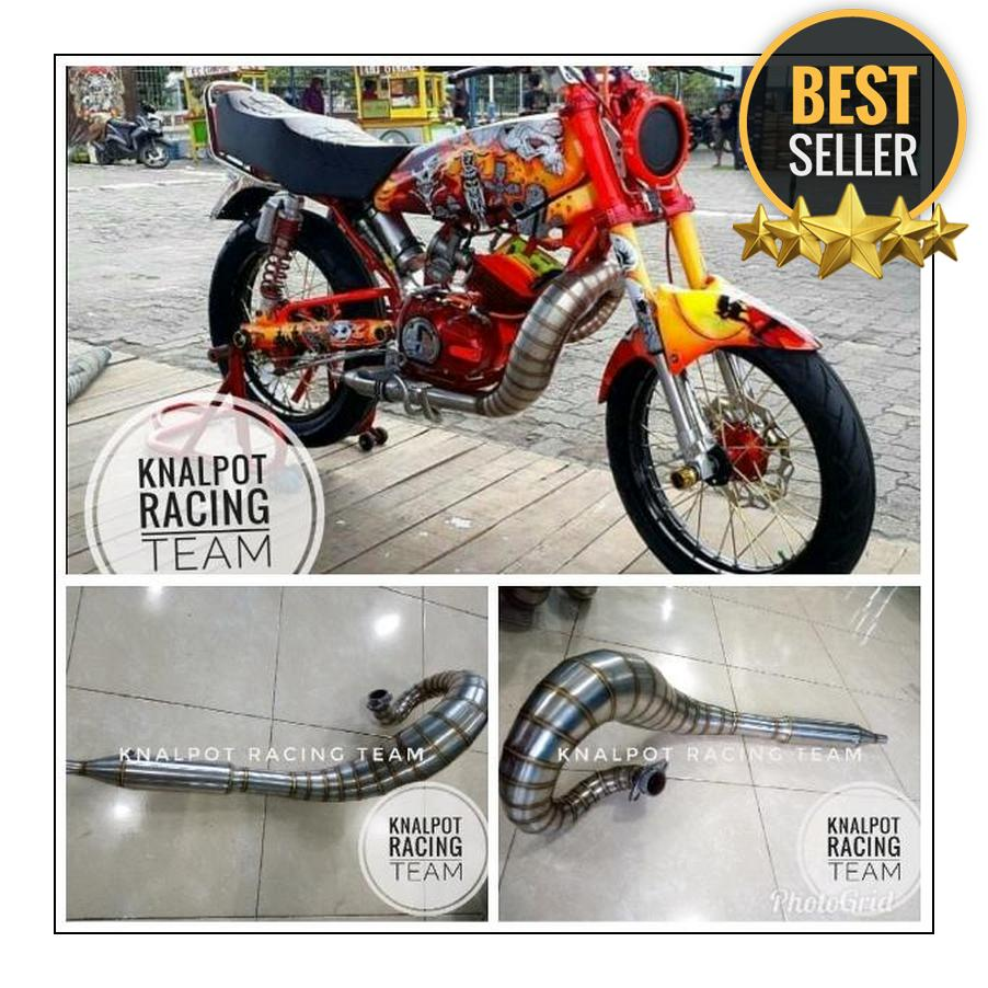 Buy Sell Cheapest Knalpot Kolong Telo Best Quality Product Deals Racing Rx King Stenlis Knapot Lobster Stainless