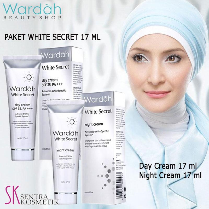 Wardah White Secret Paket Day dan Night - 17ml