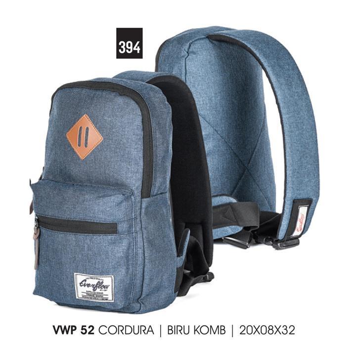 Tas Backpack pria/tas casual pria Everflow VWP 52 Biru