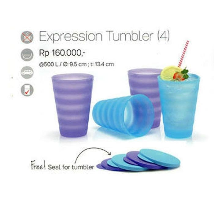 Xpression Tumbler Isi 4 Pcs Diskon