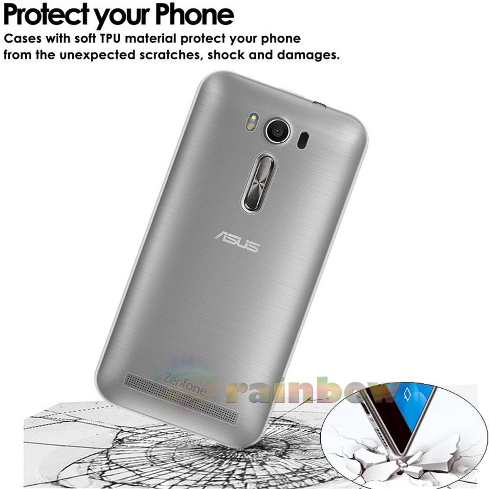 ... Rainbow Ultrathin Soft Case Asus Zenfone Go 4.5 inch 2016 ZB452KG Clear / Silicon Case Zenfone
