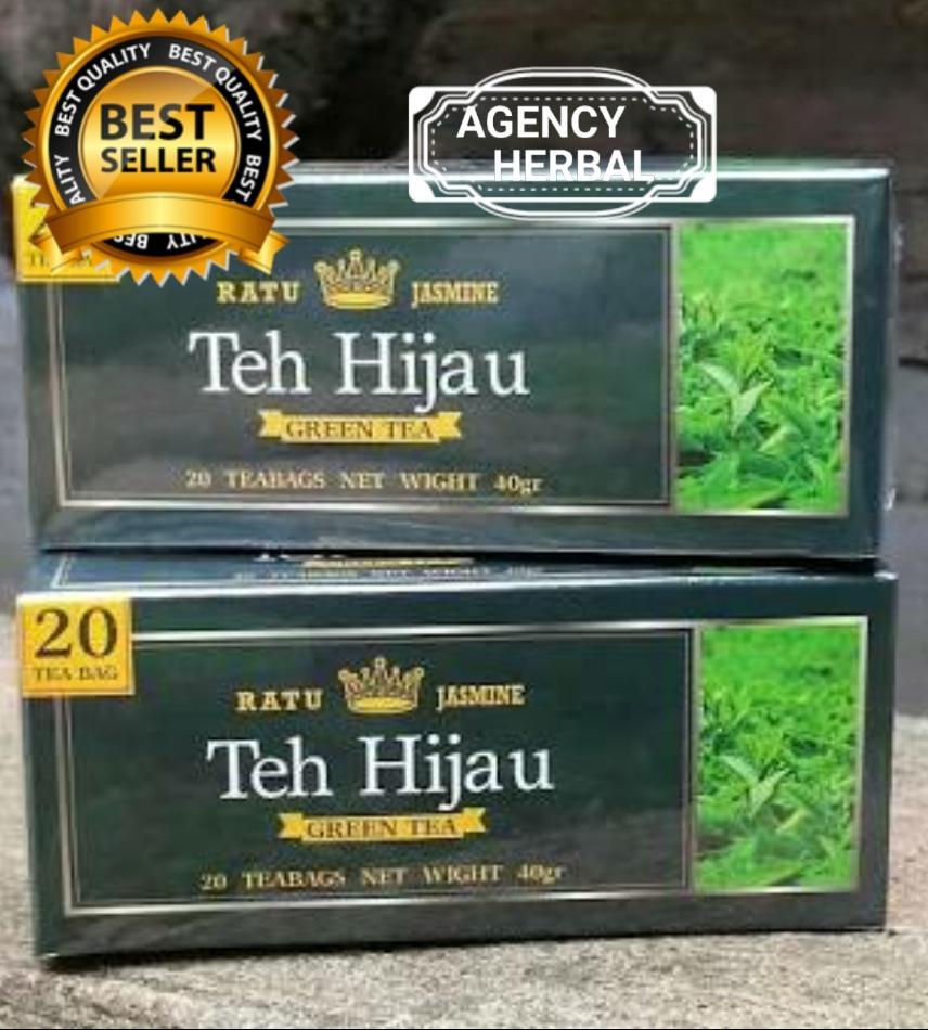 TEH  HIJAU /GREEN TEA RATU JASMINE