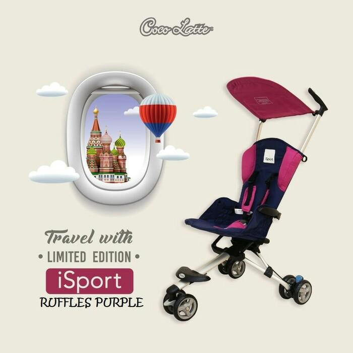 Cocolatte Isport Stroller Limited Edition