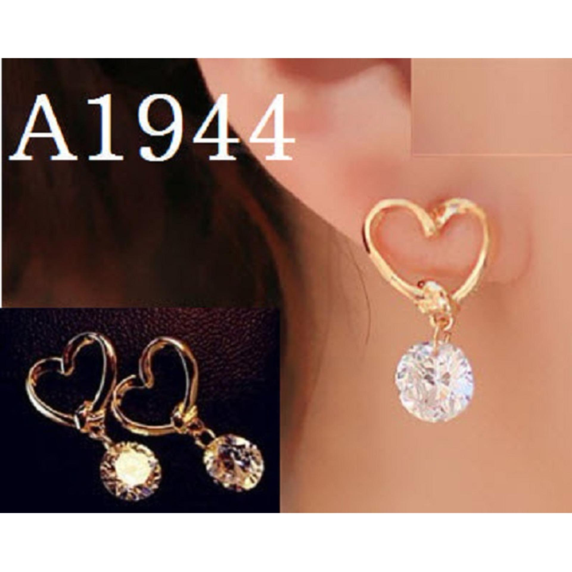 Anting Korea (Jual Perhiasan Set Gelang Cincin Kalung Xuping)