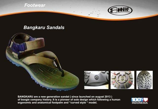 BEST SELLER!!! sandal gunung BOOGIE bangkaru - RIcZ6B