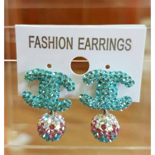 Anting Swarovski Channel/Anting Premium/Anting Branded