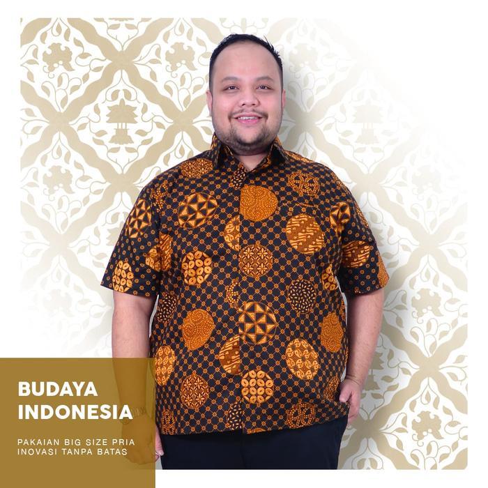 Promo Terpopuler Batik Pria Slampad Truntum Jumbo Big Size Cowok Ukuran Besar XXL XXXL