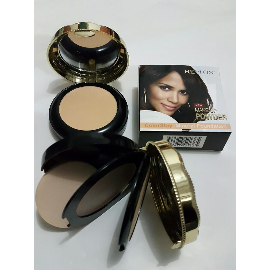 BEDAK REVLON 2IN1 TWO WAY CAKE   COMPACT COLORSTAY MINERAL FOUNDATION