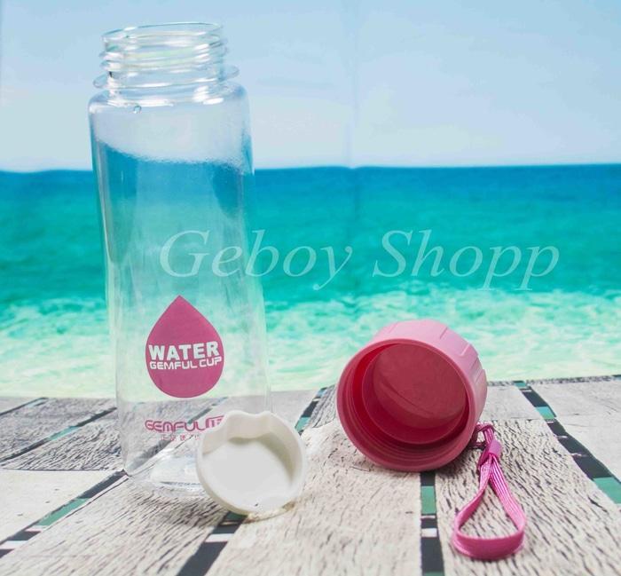 Beli 1 Gratis 1 / Botol Air / Tempat Minum Water drop 500 ml - 2 ...