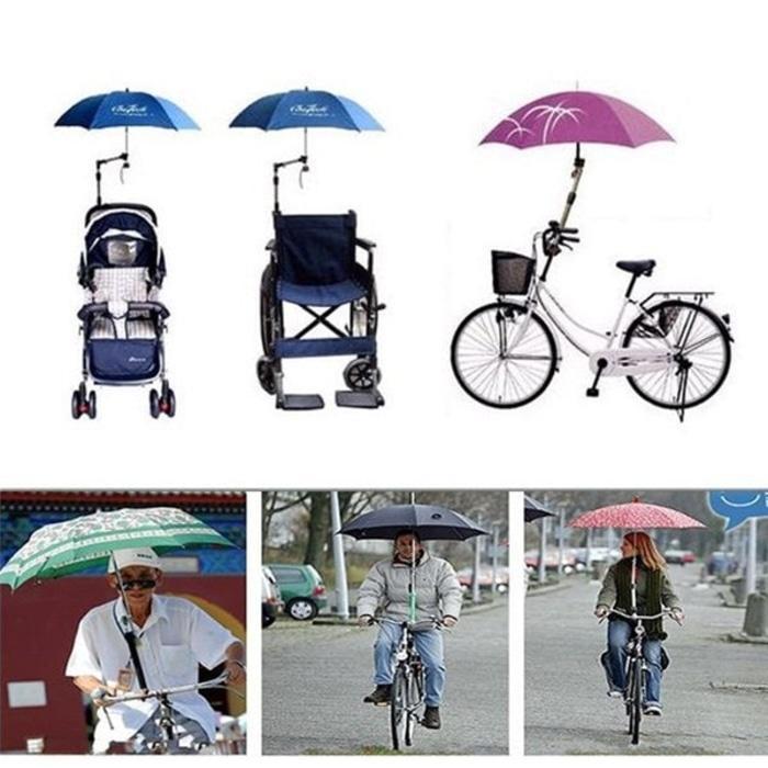 Folded Stand Payung Multifungsi Sepeda Stroller Kereta Bayi