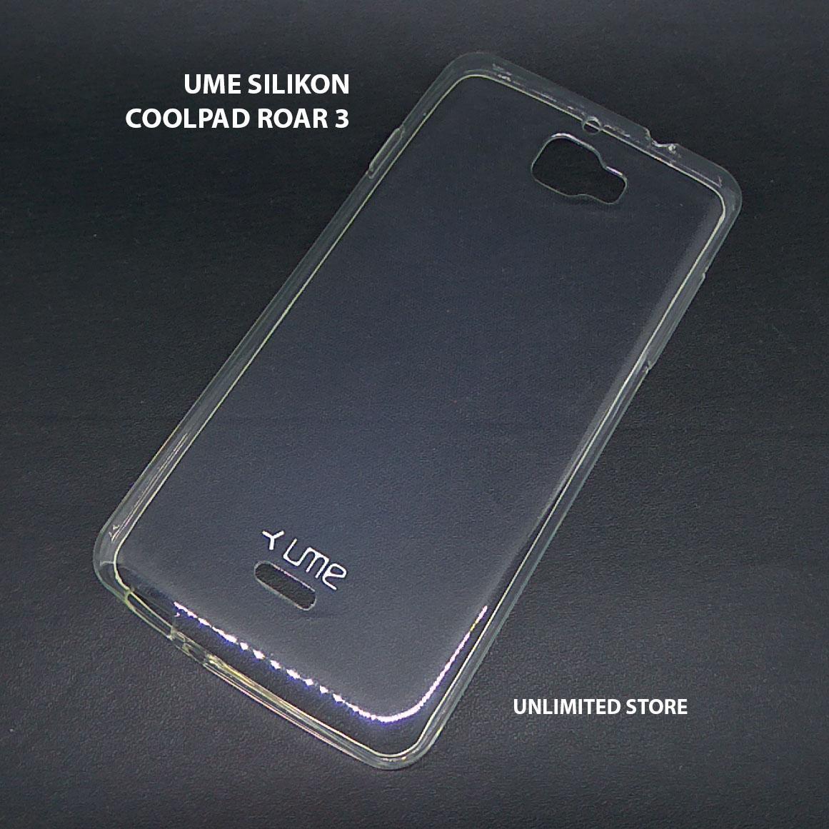 Ultrathin Softcase UME TPU Coolpad Roar 3 A118 Casing Ultra thin Soft case Silikon Silicone