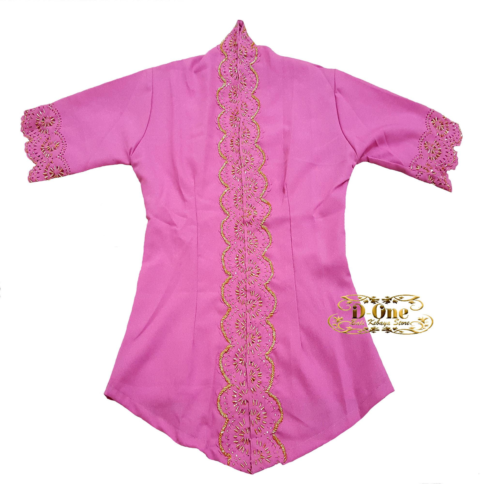 D.ONE.SHOP Kebaya Modern SImple Payet Lengan Pendek