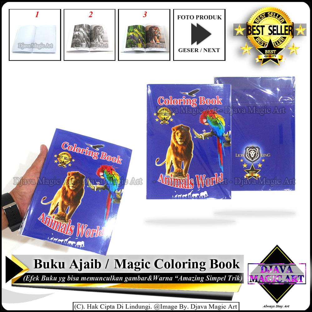 Magic Coloring Book - Buku Ajaib - Art - gimik Alat Sulap