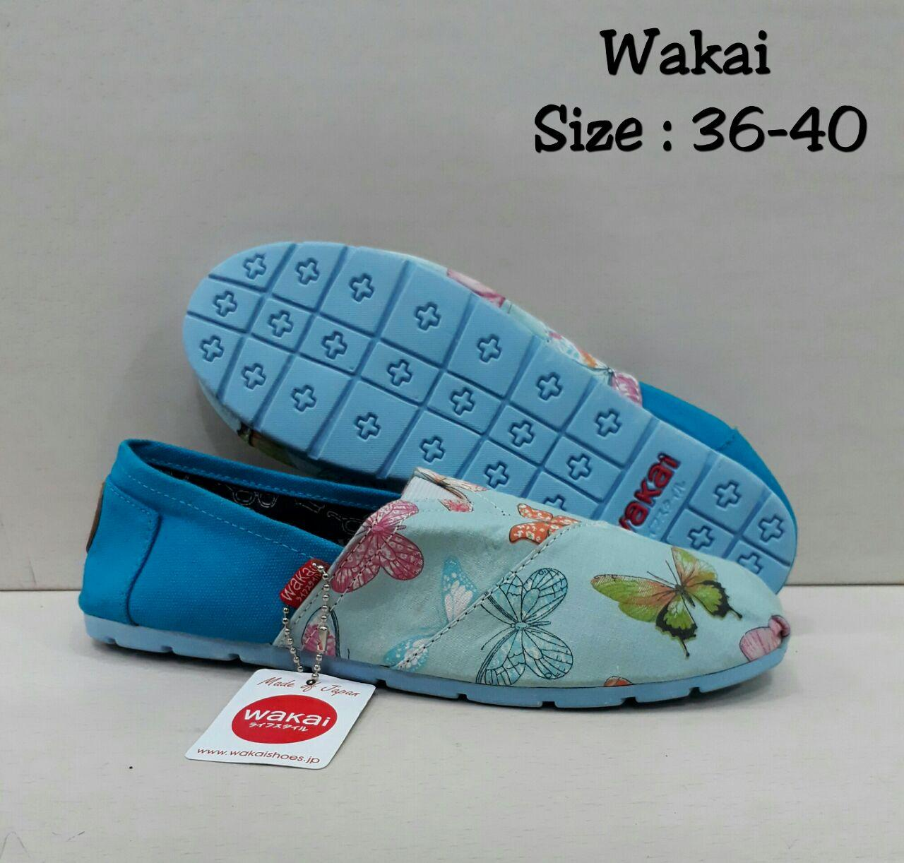 Wakai Biru New Butterfly uk36-40