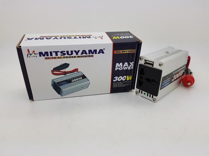 dc to ac power inverter 300watt Merk MITSUYAMA with USB 5v