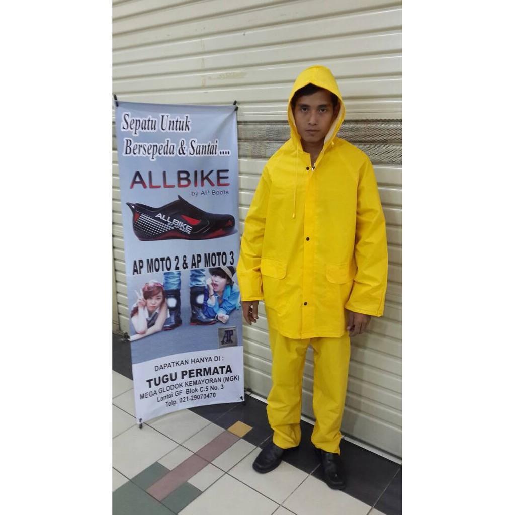 Jas Hujan Proyek Baju Celana Layar - Sjiy48