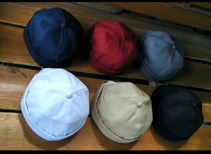 Peci Gaul/ Kopiah Brimless Cap Beanie Miki Hat