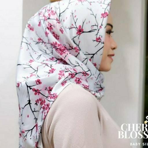Kobuca Store Hijab Maxmara Cherry  - Hijab kekinian hijab model jaman sekarang hiajb adem