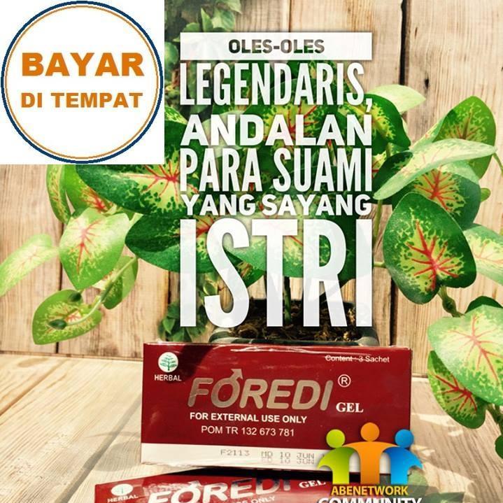 Foredi Gel Original Surabaya 100% Asli & Resmi Rekomendasi Boyke Dian Nugraha