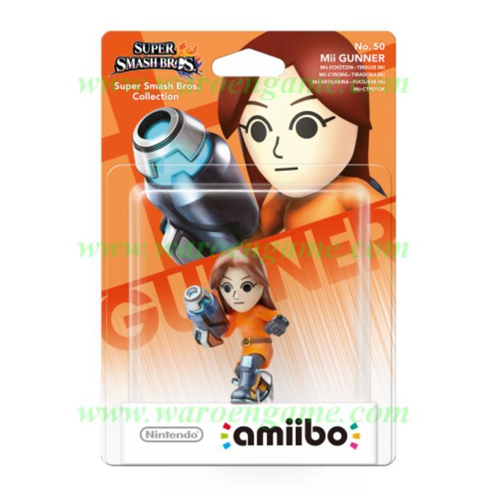 Wii U / 3DS / n3DS Amiibo Mii Gunner