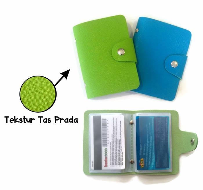 Dompet Kartu Isi 24 Slot Colourful Card Wallet Lv Prada - Daftar ... f01e6737fa