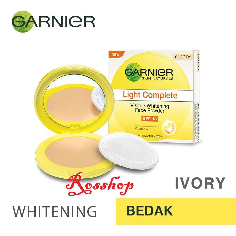 Kehebatan Garnier Light Complete Face Powder Dan Harga Update Day Cream 20 Gr Ivory