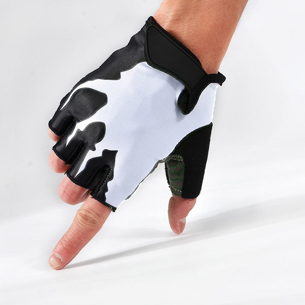North Star Shock-Absorbing Anti-Slip Breathable Half Finger Biking Hiking Sporting Gloves For Men And Women By The North Star.